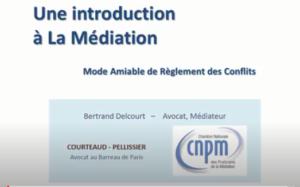 Introduction à la médiation