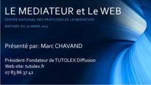 Le médiateur et le web
