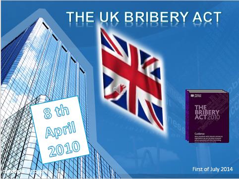 Le Bribery UK act (en français)